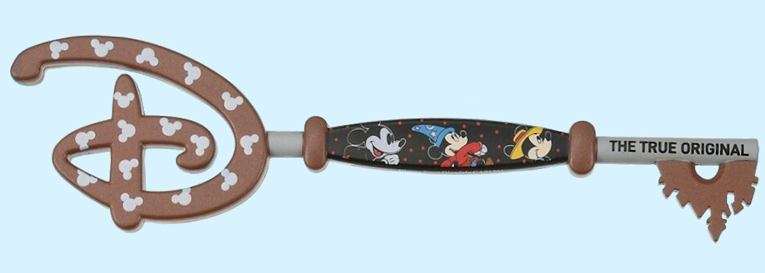 Mickey Mouse Collectable Key Set